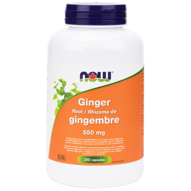 Now Ginger Root 550 mg