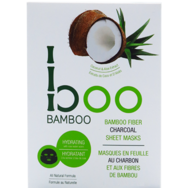 Boo Bamboo Sheet Mask Hydrating 3 Pack
