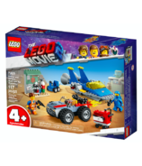 LEGO The LEGO Movie 2 Emmet and Benny's Build and Fix Workshop