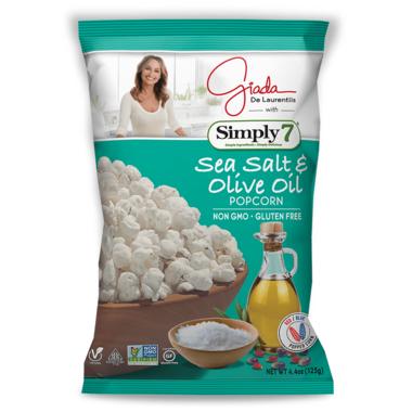 Simply 7 Giada Popcorn Sea Salt