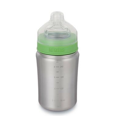 Klean Kanteen Kid Kanteen Baby Bottle 9 oz with Medium Flow Nipple