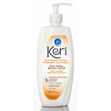 Keri Moisturizing Body Lotion Skin Therapy with Shea Butter