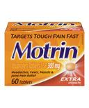 Motrin Tablets Extra Strength