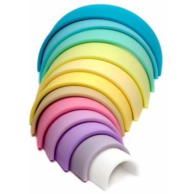 dena Toys Large Rainbow Pastel