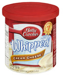 Betty Crocker Whipped Cream Cheese Frosting