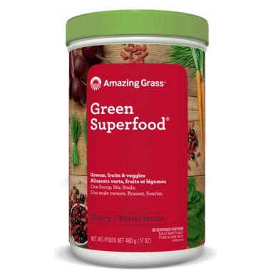 Amazing Grass Green SuperFood Powder Berry