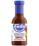 Fody Chipotle BBQ Sauce Unsweetened