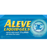 Aleve 220 mg Liquid Gels Medium Bottle