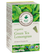 Traditional Medicinals Organic Green Tea Lemongrass