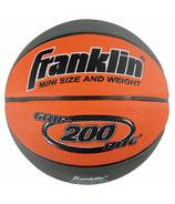 Franklin Sports Grip Rite 200 Mini Rubber Basketball Tan