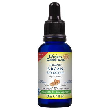 Divine Essence Organic Argan Vegetable Oil