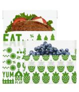 Lunchskins Reusable Bag Set Farm