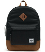 Herschel Supply Heritage Backpack Youth Black & Saddle Brown