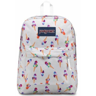 Jansport Super Break Backpack Cones and Scoops