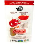 Raw Vitality Organic Cayenne Chili Flax Seed Crackers