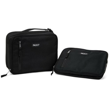 PackIt Freezable Classic Lunch Box Black