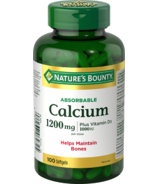 Nature's Bounty Absorbable Calcium With Vitamin D3
