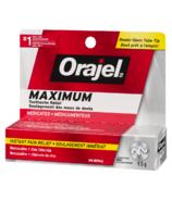 Orajel Maximum Strength Toothache Pain Relief Gel