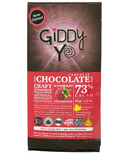 Giddy Yoyo Organic Chocolate Bar Raspberry