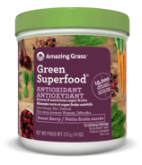 Amazing Grass Antioxidant Green Superfood Sweet Berry
