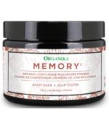 Organika Lion's Mane Mushroom Powder Memory