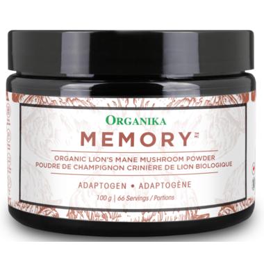 Organika Lion\'s Mane Mushroom Powder Memory
