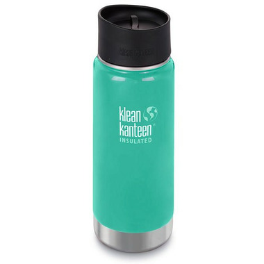 Klean Kanteen Insulated Wide Bottle with Cafe Cap 2.0 Sea Crest