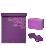 Gaiam Yoga Starter Bundle Purple