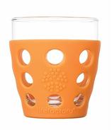 Lifefactory Small Beverage Glass Orange
