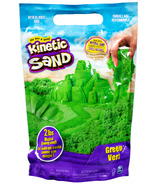 The One & Only Kinetic Sand The Original Moldable Sensory Play Sand Green