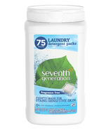 Seventh Generation Fragrance Free Laundry Detergent Packs