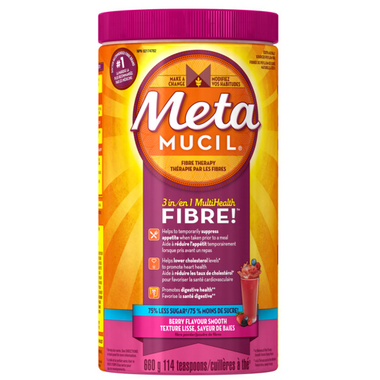 Metamucil Smooth Texture Sugar Free Berry Fibre Powder