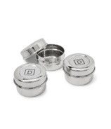 DALCINI Stainless Steel Condiment Container Set