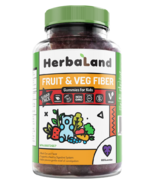 Herbaland Gummies for Kids Fruit & Veg Fiber