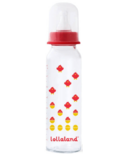 Lollaland Glass Baby Bottle Large Red