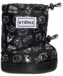 Stonz Toddler Booties Stonz Print Black