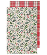 Now Designs Dishtowel Set Bough & Berry