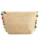 Shiraleah Keira Zip Pouch Natural