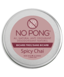 No Pong All Natural Anit-Odourant Spicy Chai Low Fragrance Bicarb Free