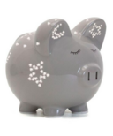 Child To Cherish Grey Night Light Pig