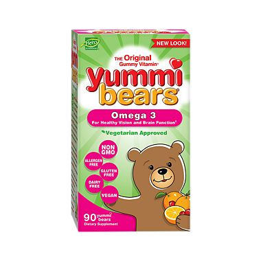 Hero Nutritionals Yummi Bears Omega 3 6 9