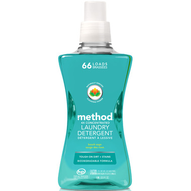 Method Laundry Detergent Beach Sage