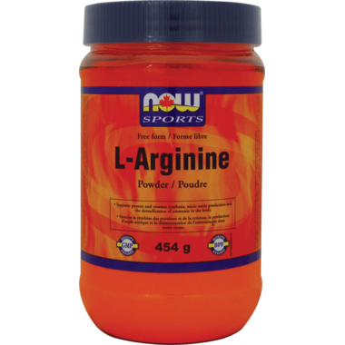 NOW Sports L-Arginine Free Form Powder