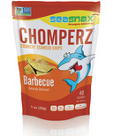 Sea Snax Chomperz Barbecue Seaweed Chips