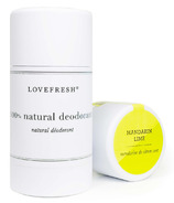 LOVEFRESH Mandarin Lime Natural Cream Deodorant Stick