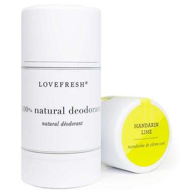 LOVEFRESH Mandarin Lime Natural Cream Deodorant Stick