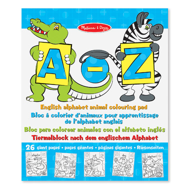 Melissa & Doug Big Picture Floor Pad A to Z