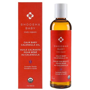 Shoosha Baby Calm Baby Calendula Oil French Lavender