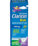 Claritin Kids Non-Drowsy Allergy Syrup Grape Flavour