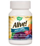 Nature's Way Alive! Men's 50+ MultiVitamin & Full B Complex